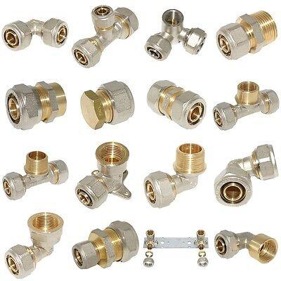 Klemmring Schraubfittings für Verbundrohr 16-20-26-32mm Klemmverschraubung
