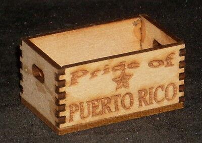 Dollhouse Miniature Louisiana Pride Crate 1:12 Farm Food Market Store Produce