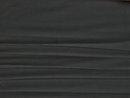 Popelín del estiramiento de algodón-Negro-Vestido Tela Libre P/&P