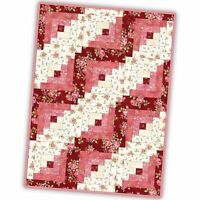 Welcome Home Flannel - 12 Block Log Cabin Quilt Pod