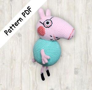 Amigurumi sweet pig | Porco de crochê, Bonecas de crochê ... | 292x300