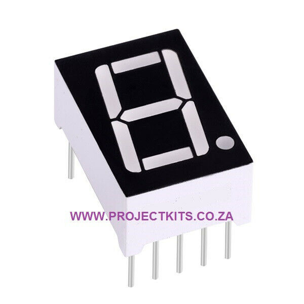 LED 7 Segment Display (Single Digit)