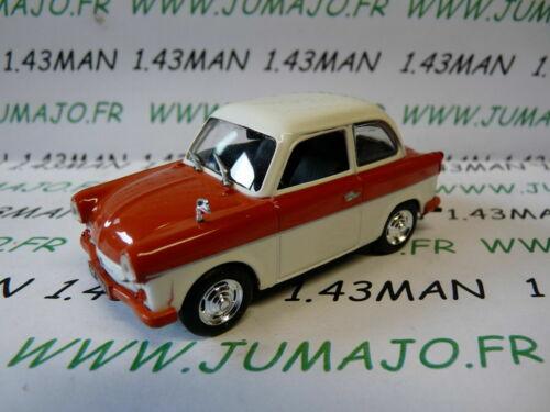 DDR Trabant P50 Limousine Rot PL154U Auto 1//43 Ixo Ist Deagostini Polen
