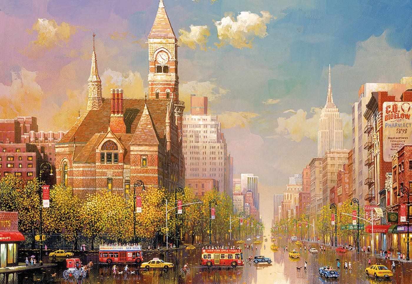 PUZZLE 6000 PIEZAS pieces teile - NEW YORK AFTERNOON ALEXANDER CHEN EDUCA 16783