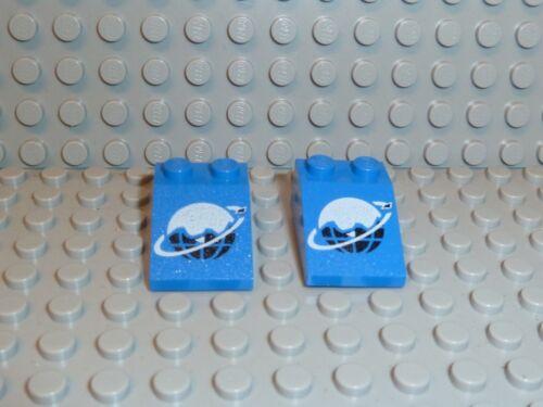 LEGO® 2x Space Classic Slope 3298p61 3x2 33° blau 6983 6973 6834 6879 K199