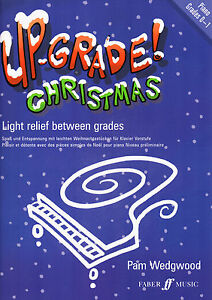 UP-GRADE-CHRISTMAS-Grades-0-1-Easy-Piano-Songs-amp-Carols-Music-Book-Beginners