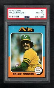 1975-TOPPS-21-ROLLIE-FINGERS-A-039-S-PSA-8-NM-MT-CENTERED