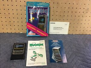 Zaxxon By Sega For Intellivision Or Intelevision II Master Component Coleco Box