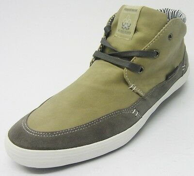 Twisted Faith Herren Beige Turnschuhe P74