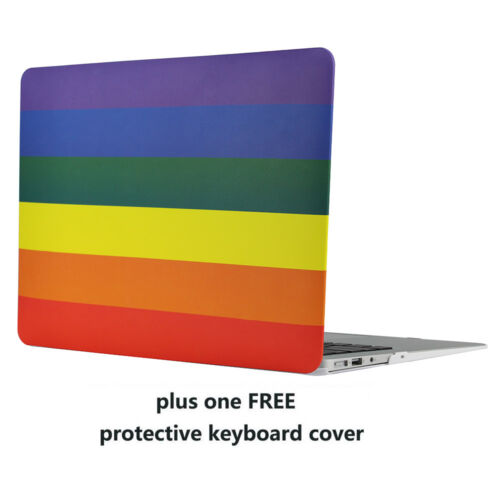 """Keyboard Cover Rubberized Hard Case For MacBook Air// Pro// Retina 11//12//13//15/"""""""