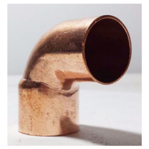 """COPPER PIPE FITTING BAG OF 10 1//2/"""" 90 Degrees Street Elbow C x FTG"""