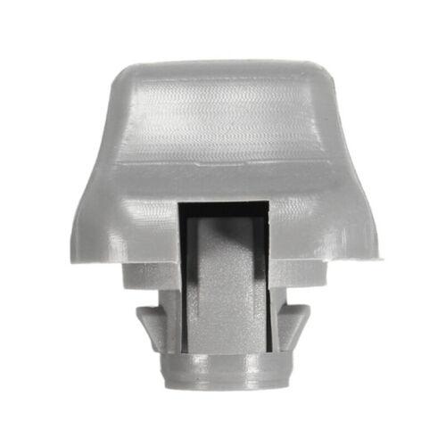 Gray Sun Visor Clip Holder For CR-V//Civic//Accord//Odyssey 88217-S04-003ZA EA