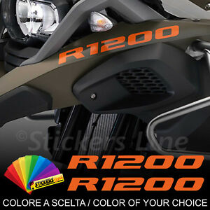 Adesivi-BMW-R1200-GS-Adventure-2-scritte-adesive-Becco-Anteriore-Scelta-Colore