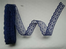 10-600yds Bilateral Handicrafts Embroidered Net Lace Trim Ribbon Bow Crafts