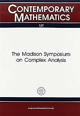 Madison Symposium on Complex Analysis Paperback