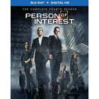 Person of Interest The Complete Fourth Season Region 1 Blu-ray