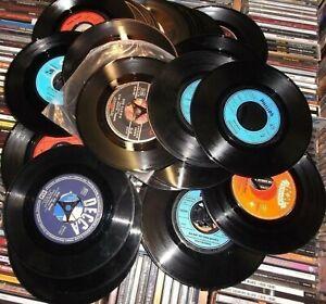 Deko Schallplatten 7 Single Vinyl 20 Stück Auch Zum Basteln