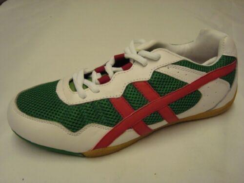 Sneaker Theo Core Freizeitschuh Laufschuh Größe 44 weiß grün Neu Outdoorschuh