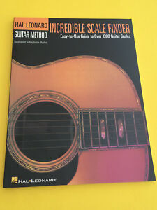 Antiquarische Noten/songbooks Noten & Songbooks Easy-to-use Guide To Over 1300 Guitar Scales VerrüCkter Preis Aktiv Incredible Scale Finder