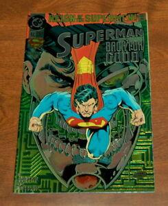 Superman Back For Good 82 Dc Comic Reign Of The Supermen Chromium Cover Vf Nm Ebay