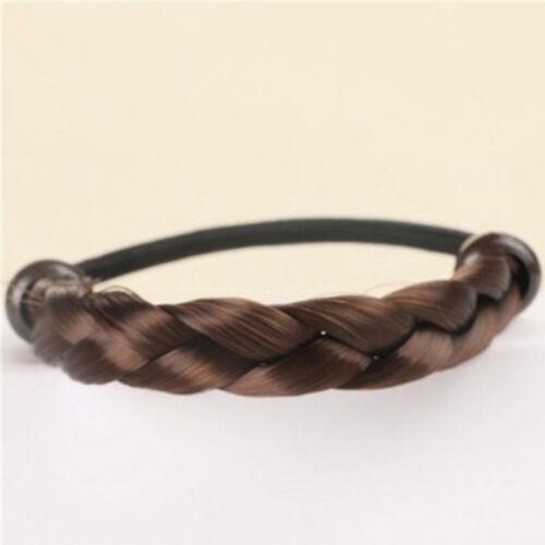 Fashion Elastic Hair Band Personality Wig Braid Women Hair Ropes Ponytail Holder