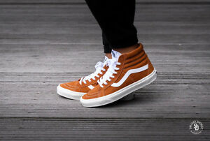 best sneakers 45a02 e822e Image is loading NWOB-Men-039-s-Vans-Sk8-hi-retro-
