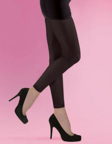 FREE P/&P New 70 Denier Soft Opaque Footless Tights Small Medium /& Large Black