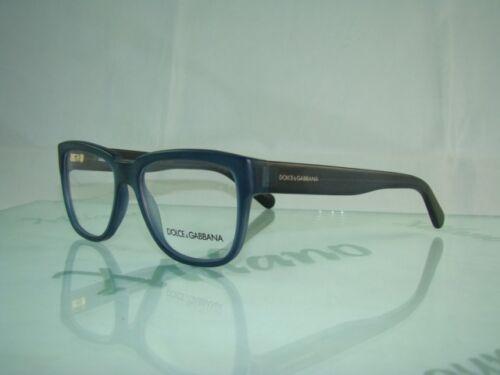 Dolce Gabbana DG 3133 2614 Matte Blue Black Retro Eyeglasses Frames ...