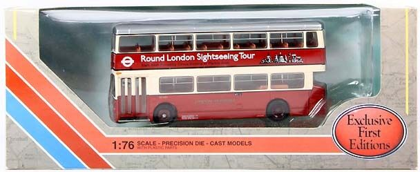 First Edition 28003 Daimler DMS Single Door London Sightseeing OO Scale Model