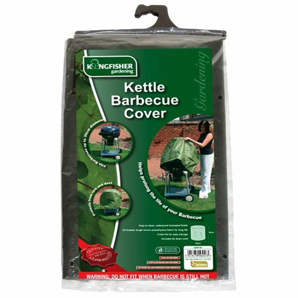WATERPROOF KETTLE BARBECUE COVER WITH TIE-DOWN CORDS PROTECTOR RAIN DUST COV101
