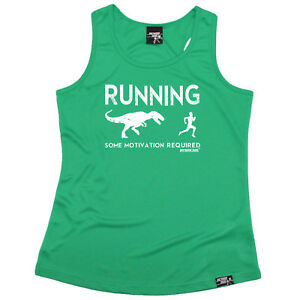 Running Débardeur Drôle Femme Sports Performance Singlet-Running certains motivation R 							 							</span>