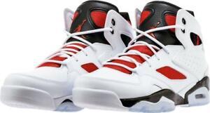 310178aacf9 Nike Jordan Flight Club 91 Men s Shoes White Gym Red Black 555475 ...