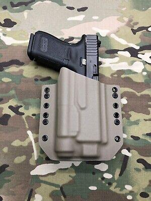 TLR1 Gray Kydex Light Bearing Holster for Glock 19 23 32 Streamlight TLR-1s
