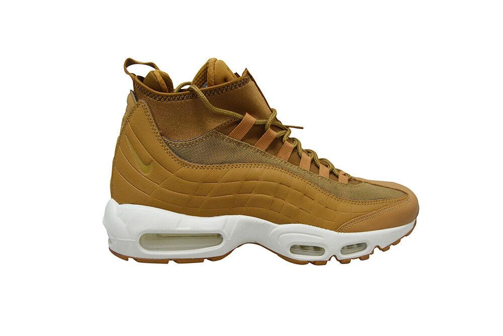 Homme Nike Air Max 95 Sneakerboot - 806809 201 Brun-Blanc Baskets-