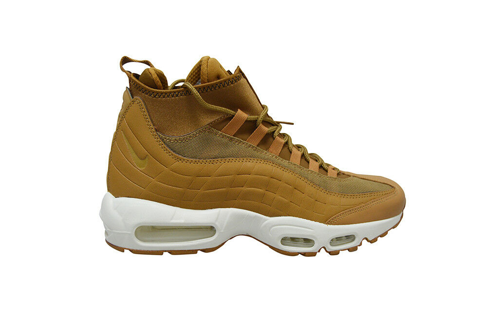 Mens Nike Air Max 95 Sneakerboot - 806809 201 - - - Brown White Trainers 6d3e26