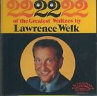 22 Great Waltzes by Lawrence Welk (CD, Aug-1992, Ranwood Records)