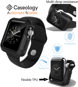 reputable site 67cd7 da0aa Details about For Apple Watch Case Series 2 3, Genuine Caseology VAULT Slim  Cover for 38/42mm