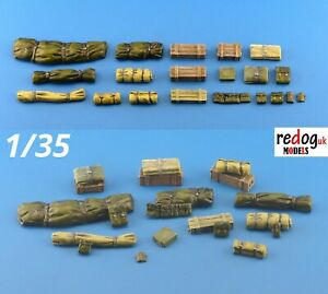 1-35-militaire-Scale-Modelling-Resine-arrimage-diorama-accessoires-kit-8