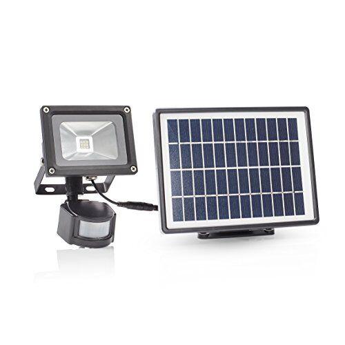 Smartwares 10.048.14 LUCE di Sicurezza-separati con pannello solare Sfl-180-MS ret