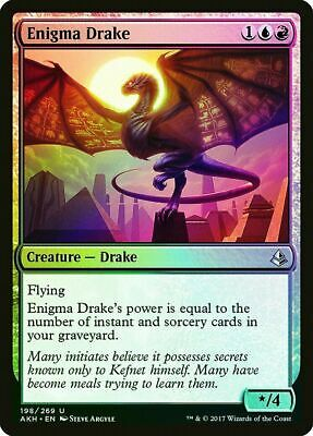 English -BFG- MTG Magic x4 Drake Haven 4x Amonkhet Near Mint