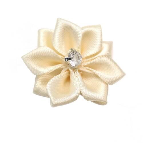 raso-Nozze di cristallo Spirale Twist 5 PZ Nuziale Capelli Spille