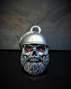 Motorcycle bell Helmet Skull guardian gremlin ride bell