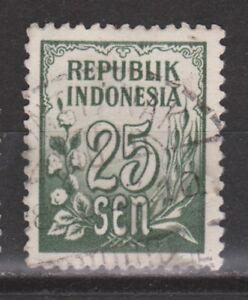 Indonesia-80-TOP-CANCEL-PONTIANAK-1951-Cijfer-NU-VEEL-MEER-INDONESIE