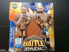 Wwe cm punk ryback battle pack series 29 with accessories table uk seller mattel
