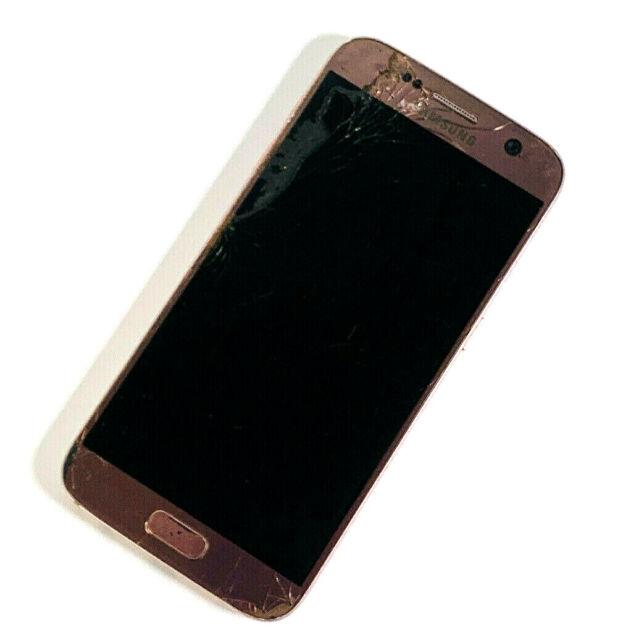 Samsung Galaxy s7 sm-g930f Rose Gold 32gb Entsperrt tot, kein Strom 179