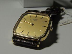 SEIKO-034-orologio-al-quarzo-unisex-034-SGP-placcato-oro-made-in-Japan-NUOVO