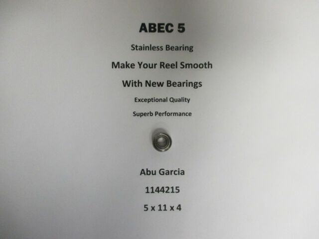 Abu Garcia Part REVO TORO 50-HS  1144215 ABEC 5 Stainless Bearing 5 x 11 x 4 #03