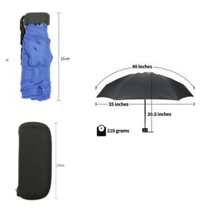 5f37e5956c84 Details about Mini Pocket Size Light Windproof Umbrella Folding Compact  Travel Umbrellas