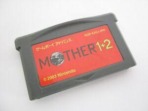 Game Boy Advance MOTHER 1 2 Earthbound Zero Nintendo ...