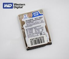 Western Digital 160GB Notebook Festplatte HDD SATA 2,5 Zoll WD1600BEVS-08VAT2